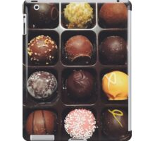 Chocolate Truffles Photo iPad Case/Skin