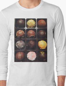 Chocolate Truffles Photo Long Sleeve T-Shirt