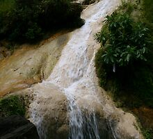 Erawan Waterfall in Thailand 3 by Neil Grainger