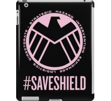 #SAVESHIELD iPad Case/Skin