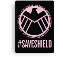 #SAVESHIELD Canvas Print