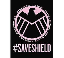 #SAVESHIELD Photographic Print