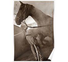 Craftsman at Work - Ralph & Booker Poster