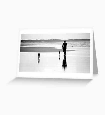 'Together' - Inverloch, Victoria, Australia 2008 Greeting Card
