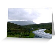Pen-y-Ghent Greeting Card