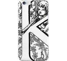 K, the universal reply. iPhone Case/Skin