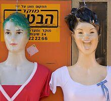 Dolls portrait by Moshe Cohen