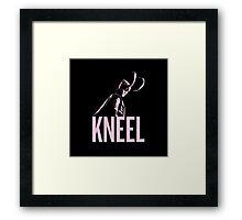 LOKI: Kneel Framed Print