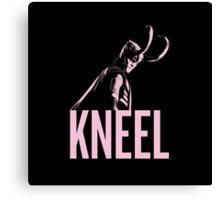 LOKI: Kneel Canvas Print