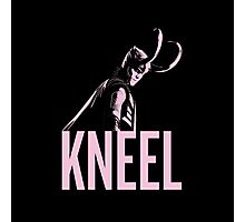 LOKI: Kneel Photographic Print