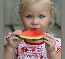 I Love Watermelon by Cargomom