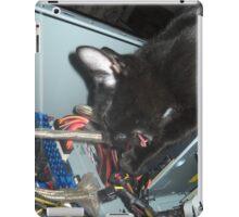 Lil Bear Helps Fix Computer iPad Case/Skin