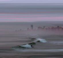 Surfers Paradise by bluefinart