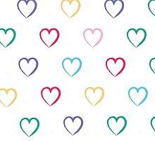 Hearts by helloartistry