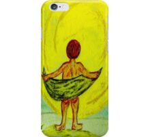 Toweling at the Moon iPhone Case/Skin