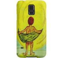 Toweling at the Moon Samsung Galaxy Case/Skin