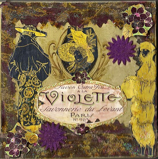 Violette et Jaune(Yellow) by RobynLee