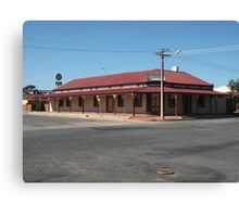 Broken Hill, The Silver Spade,  - 2013 Canvas Print