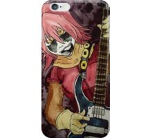 Black Metal Bass Girl iPhone Case/Skin