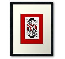 Jack of Threes Framed Print