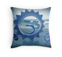 Om Simbol Throw Pillow
