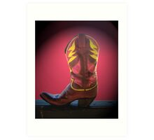 Kickers 10 Art Print