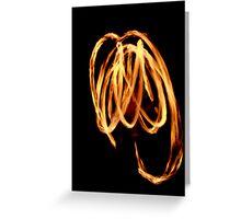 OCF Fire Poi 11 Greeting Card