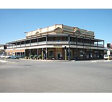 Broken Hill The Astra Hotel  Photographic Print