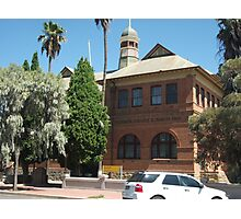 Broken Hill Technical College and Museum  Photographic Print