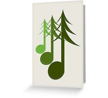 Nature sounds Greeting Card