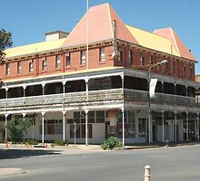 Broken Hill, Mario's Palace Hotel  by Heather Dart