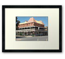 Broken Hill, Mario's Palace Hotel  Framed Print