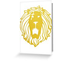 Pride, The Lion Greeting Card