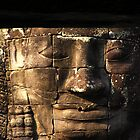 Face of Bayon by fatfatin