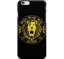 Lion's Pride Back iPhone Case/Skin