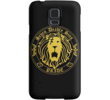 Lion's Pride Back Samsung Galaxy Case/Skin