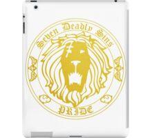Lion's Pride Back iPad Case/Skin
