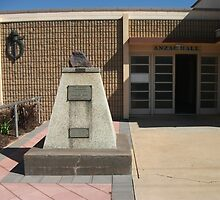 Broken Hill, Charles Rasp memorial, ANZAC hall by Heather Dart