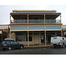 Broken Hill old building Argent St Photographic Print