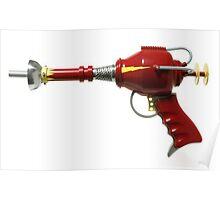 Retro Ray Gun Poster