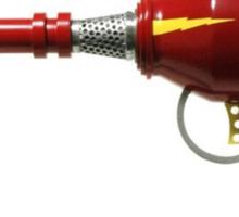 Retro Ray Gun Sticker