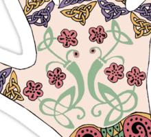 Celtic Mehndi hand Sticker