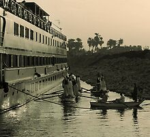 River Vendors of the Nile by fatfatin