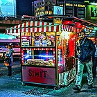 Late night snack wagon in Istanbul, by Tim Constable by Tim Constable