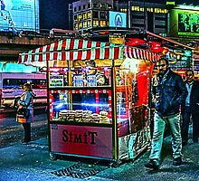 Late night snack wagon in Istanbul, by Tim Constable by TimConstable