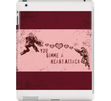 You Gimme a Heart Attack - Halo  iPad Case/Skin