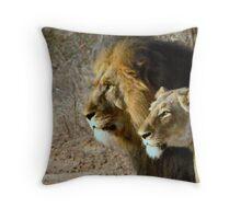 Beautiful People Throw Pillow