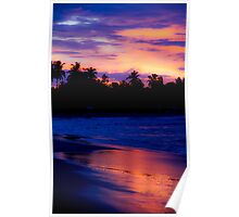 A - Bay Sunset Poster