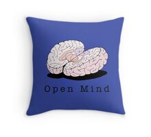 Open Mind Throw Pillow