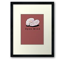 Open Mind Framed Print